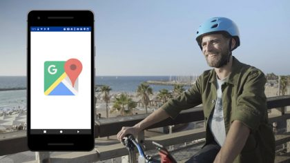 GOOGLE MAPS - BIKE INTRODUCTION